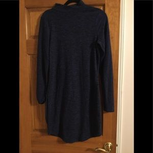 Express Navy Blue sweater dress